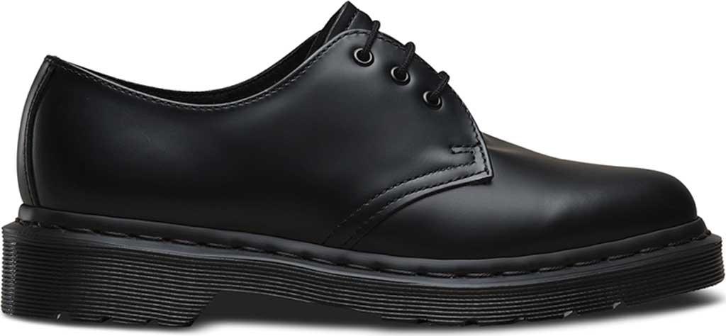 Dr. Martens 1461 3-Eye Shoe, Black Smooth Mono, large, image 3