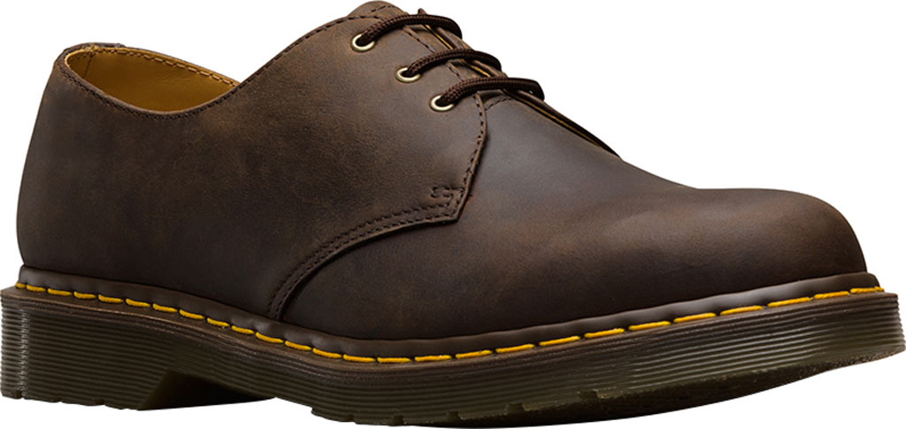 Dr. Martens 1461 3-Eye Shoe, Gaucho Crazyhorse Distressed Leather, large, image 1