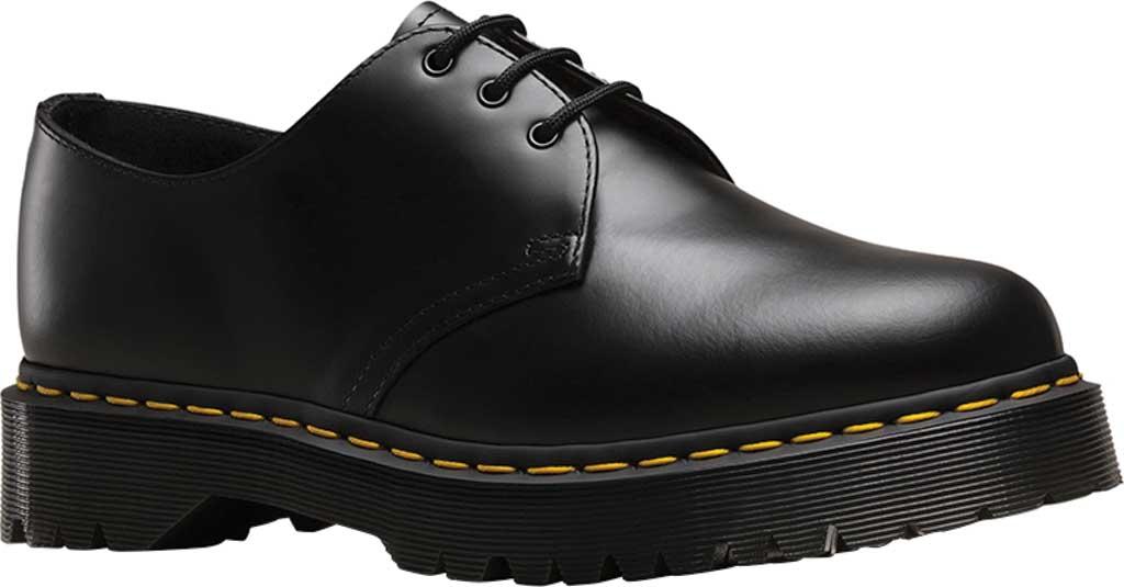 Dr. Martens 1461 3-Eye Shoe, Black Smooth Leather/Bex, large, image 1
