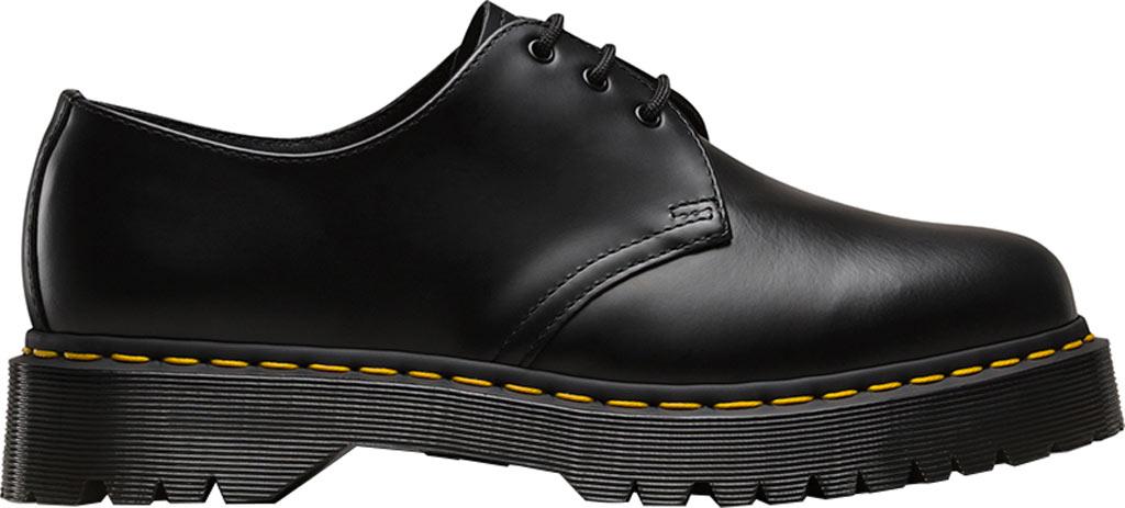 Dr. Martens 1461 3-Eye Shoe, Black Smooth Leather/Bex, large, image 2
