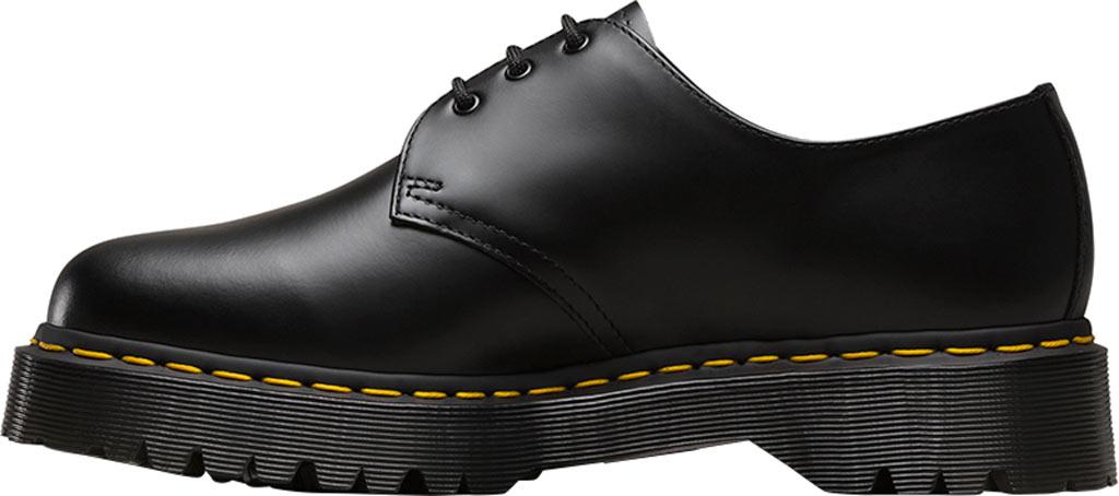 Dr. Martens 1461 3-Eye Shoe, Black Smooth Leather/Bex, large, image 3