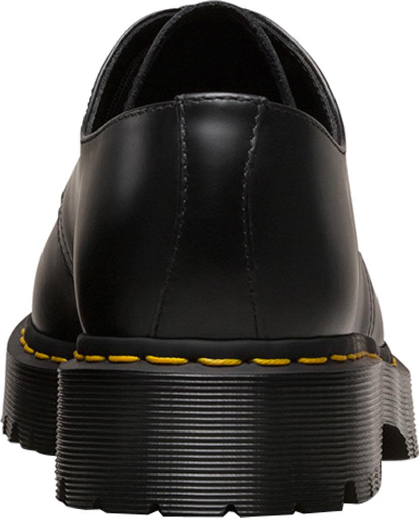 Dr. Martens 1461 3-Eye Shoe, Black Smooth Leather/Bex, large, image 5