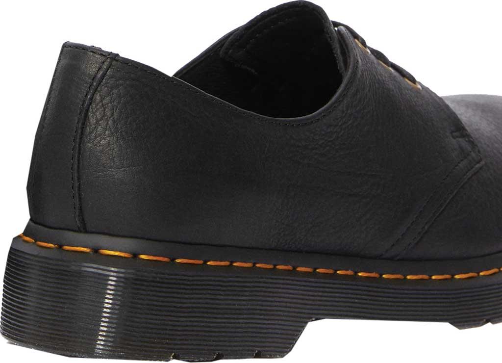 Dr. Martens 1461 3-Eye Shoe, Black Ambassador Tumbled Oily Leather, large, image 3