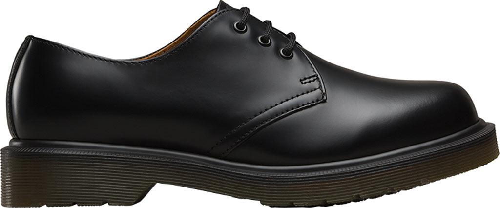 Dr. Martens 1461 3-Eye Shoe, Black Smooth Leather, large, image 2