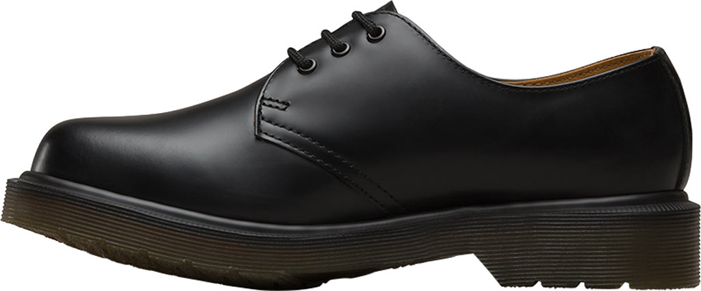 Dr. Martens 1461 3-Eye Shoe, Black Smooth Leather, large, image 3