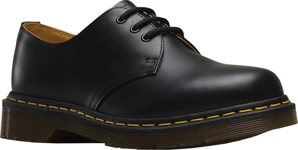 Dr. Martens 1461 3-Eye Shoe, Black Smooth, large, image 1