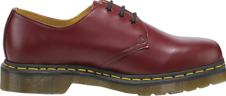 Dr. Martens 1461 3-Eye Shoe, Cherry Red Smooth, large, image 2