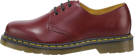 Dr. Martens 1461 3-Eye Shoe, Cherry Red Smooth, large, image 3