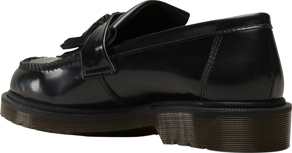 Dr. Martens Adrian Tassel Loafer, Black Polished Smooth Standard Leather, large, image 3