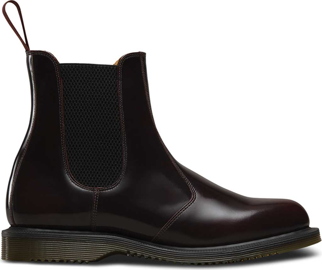 Women's Dr. Martens Flora Chelsea Boot, Cherry Red Arcadia, large, image 2