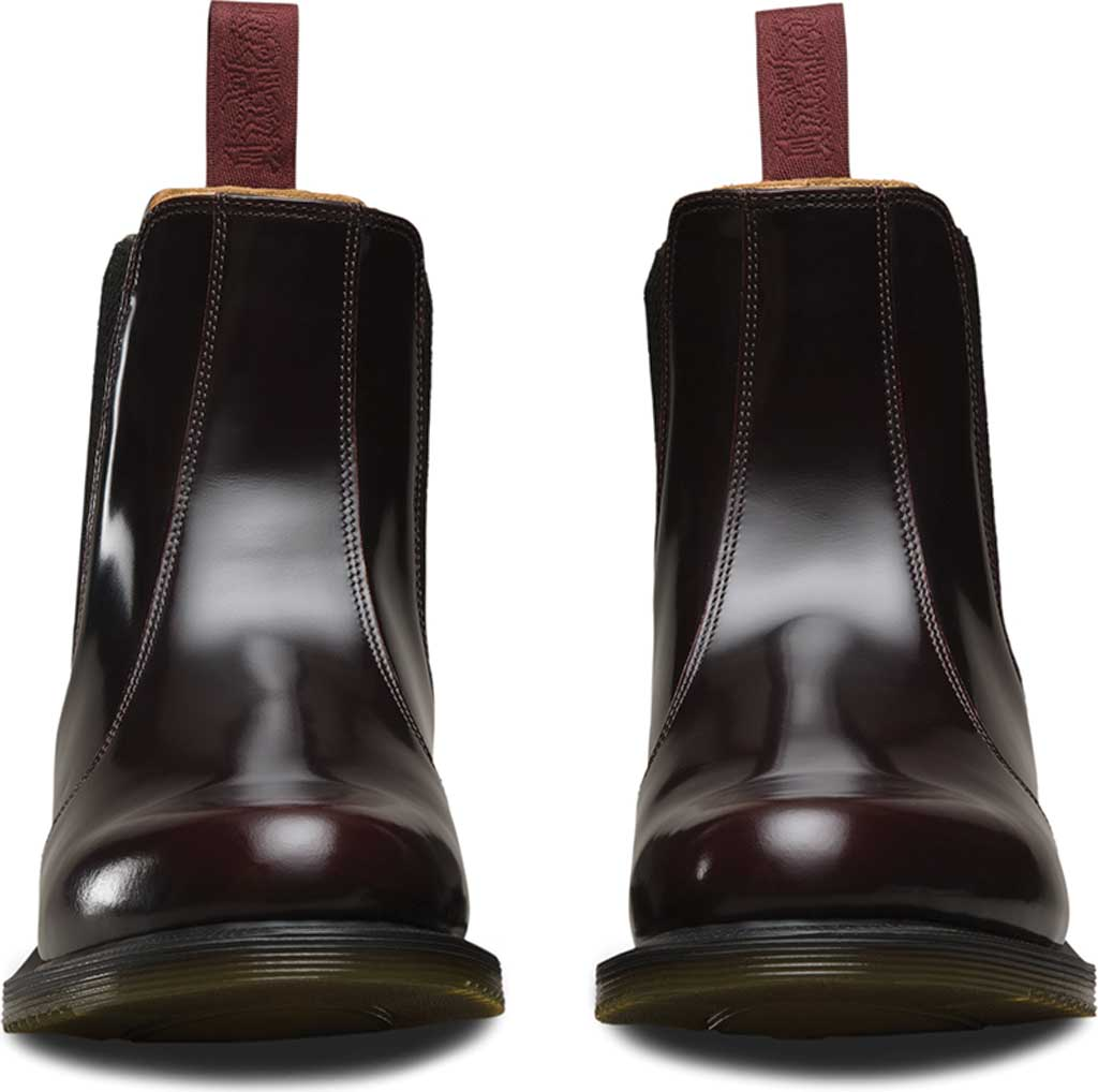 Women's Dr. Martens Flora Chelsea Boot, Cherry Red Arcadia, large, image 4