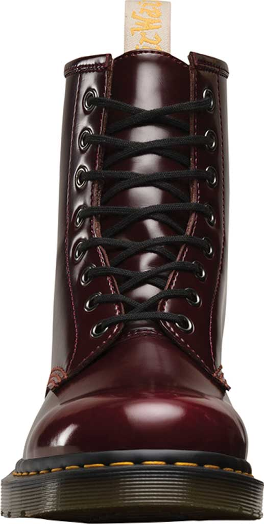 Dr. Martens Vegan 1460 8-Eye Boot, Cherry Red Cambridge Brush Off Leather, large, image 4
