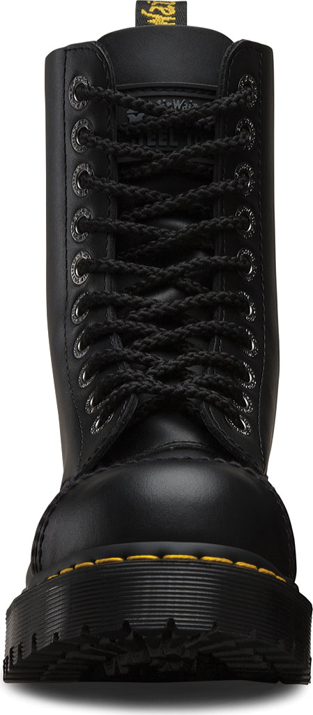 Dr. Martens 8761FH 10-Eyelet Cap Toe Boot, Black Fine Haircell, large, image 4