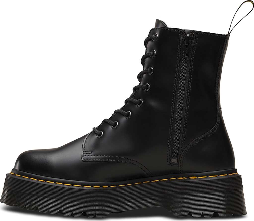 Dr. Martens Jadon 8-Eye Boot, Black Polished Smooth, large, image 3