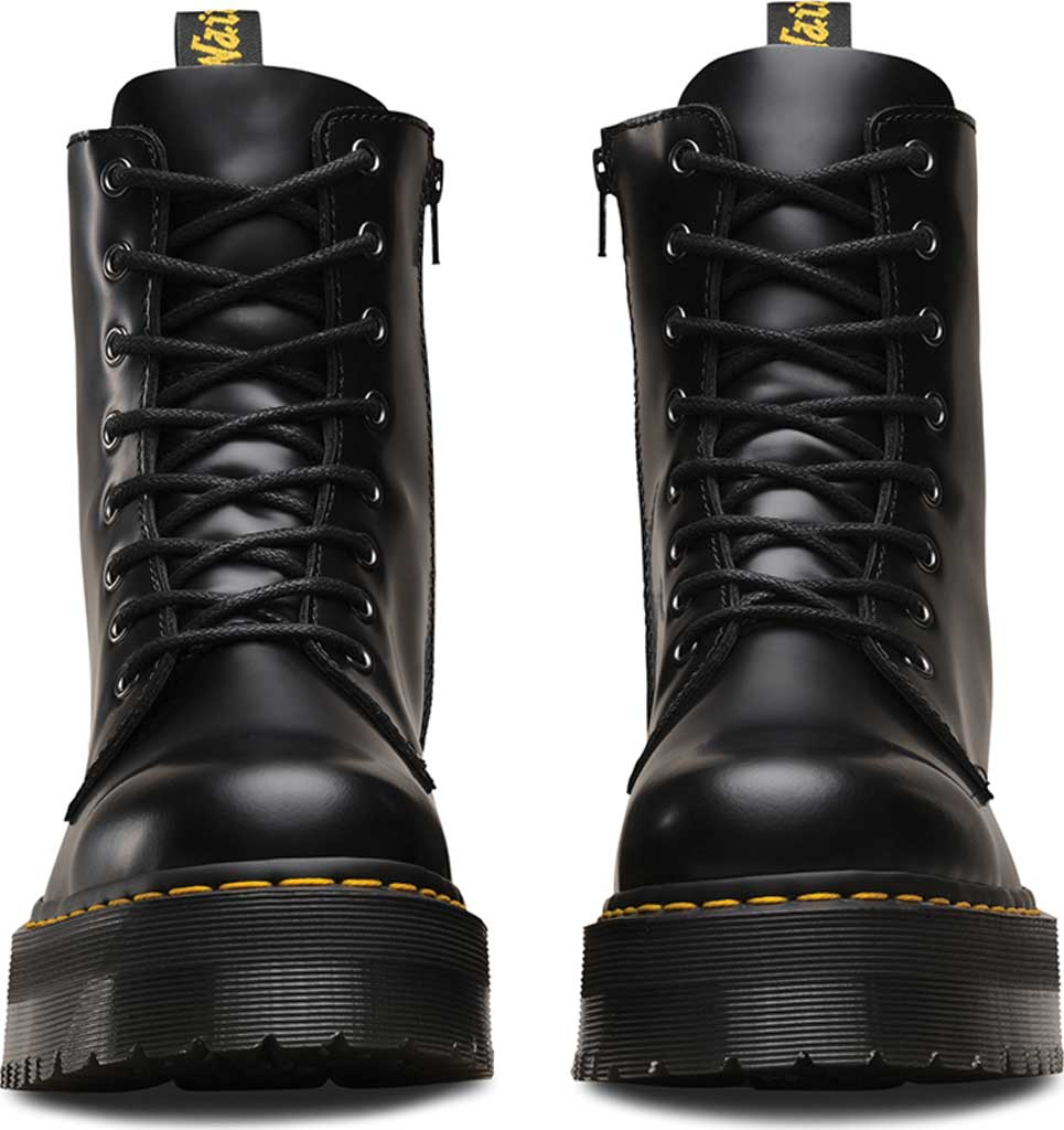 Dr. Martens Jadon 8-Eye Boot, Black Polished Smooth, large, image 4