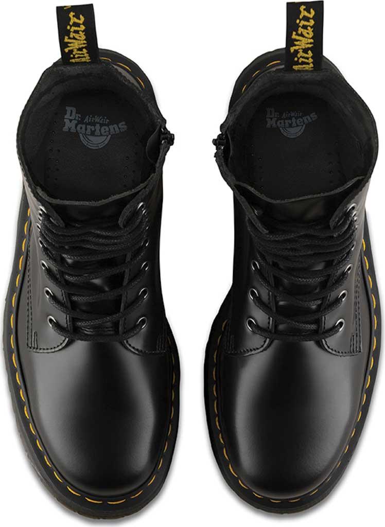 Dr. Martens Jadon 8-Eye Boot, Black Polished Smooth, large, image 6