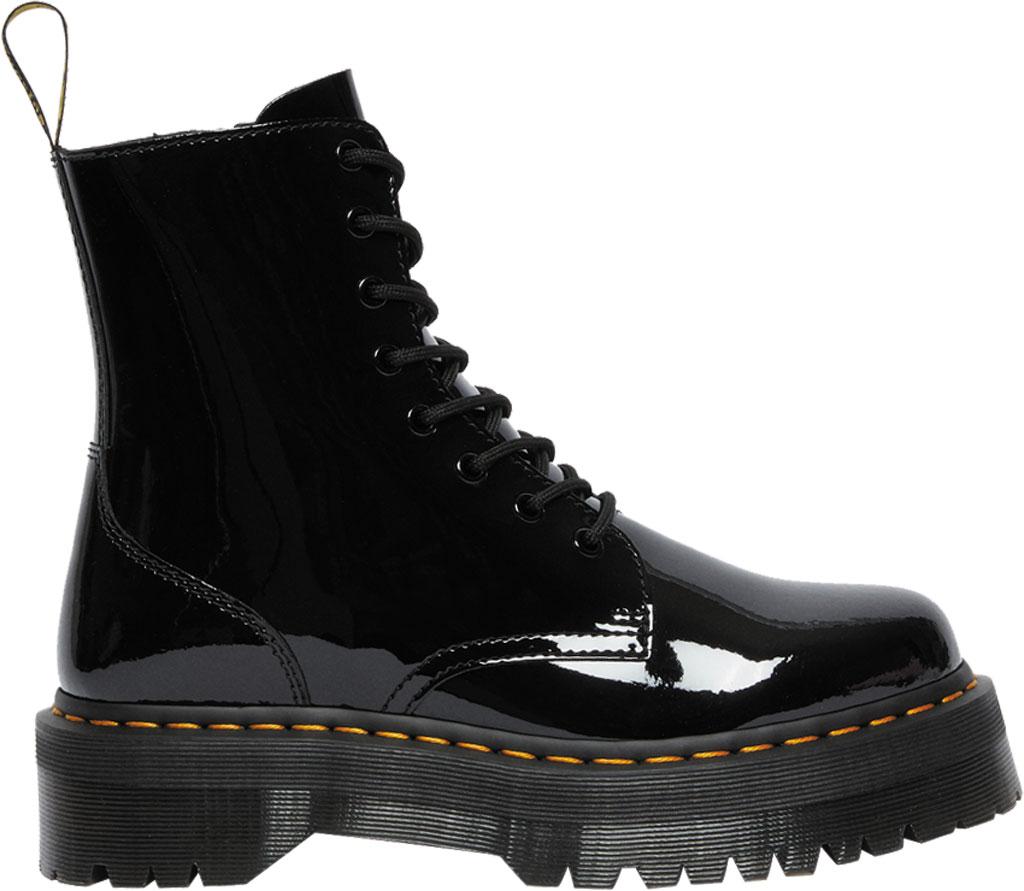 Dr. Martens Jadon 8-Eye Boot, Black Patent Lamper Leather, large, image 2