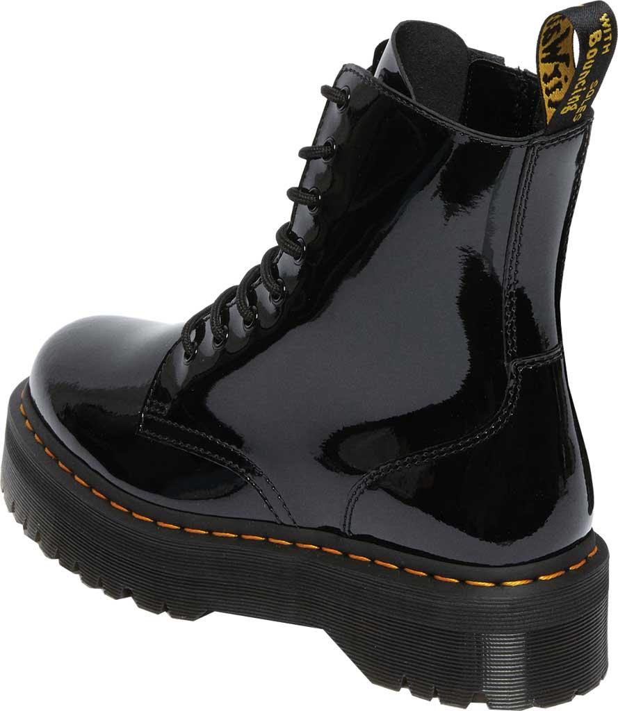 Dr. Martens Jadon 8-Eye Boot, Black Patent Lamper Leather, large, image 3