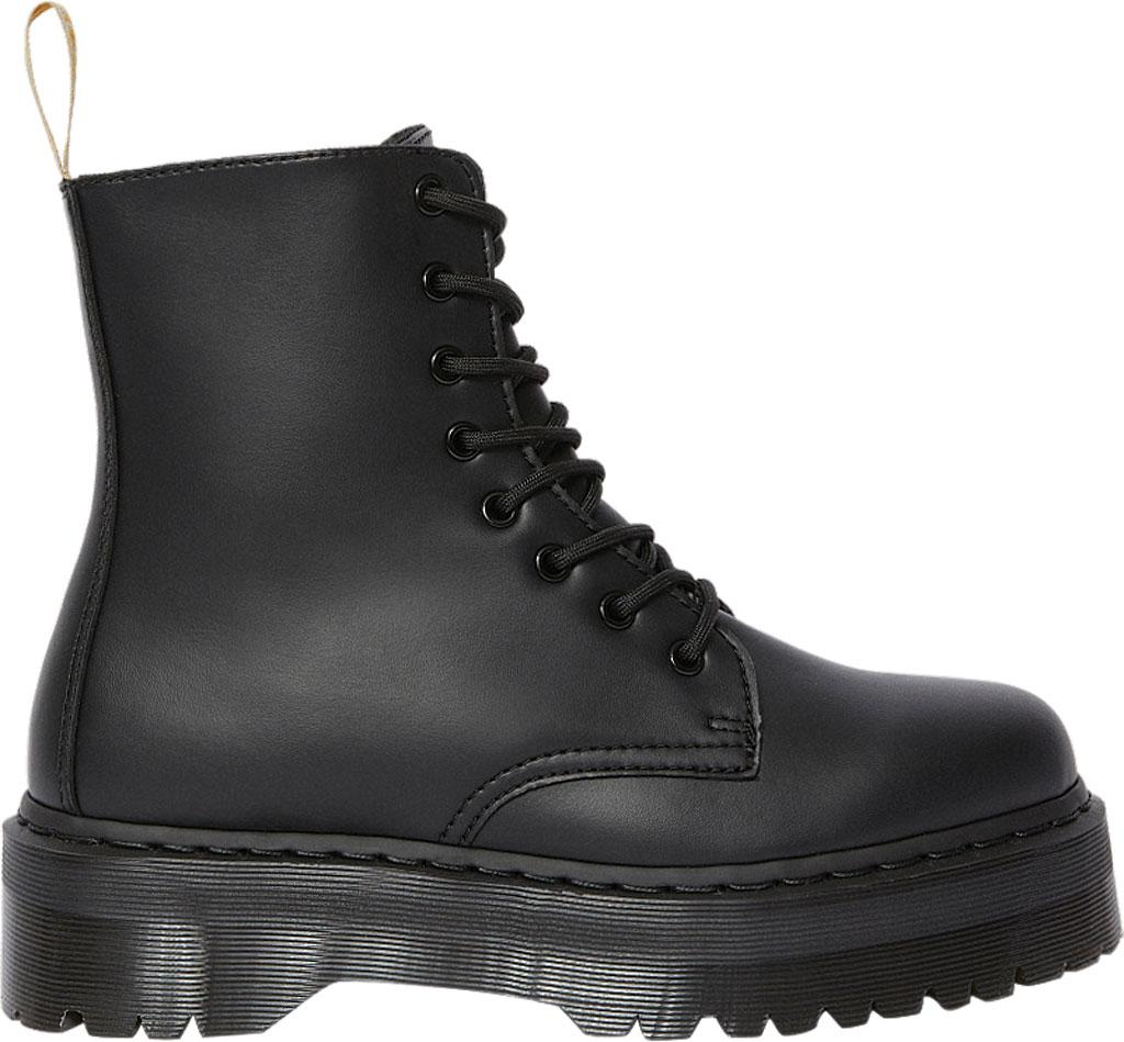 Dr. Martens Jadon 8-Eye Boot, Black Felix Rub Off Vegan, large, image 2