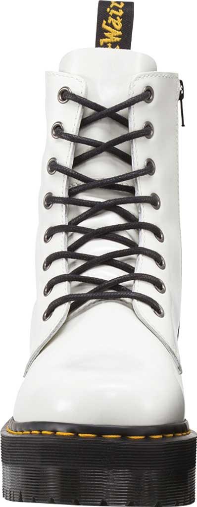 Dr. Martens Jadon 8-Eye Boot, White Polished Smooth Leather, large, image 4