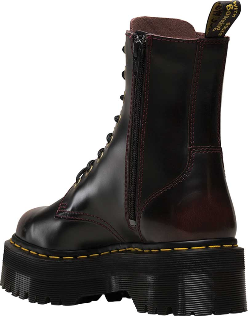 Dr. Martens Jadon 8-Eye Boot, Cherry Red Arcadia Leather, large, image 3