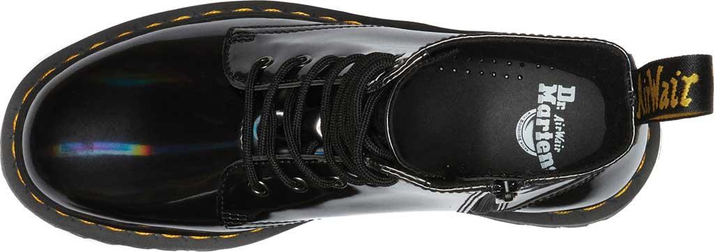 Dr. Martens Jadon 8-Eye Boot, Gunmetal Hologram Synthetic, large, image 4