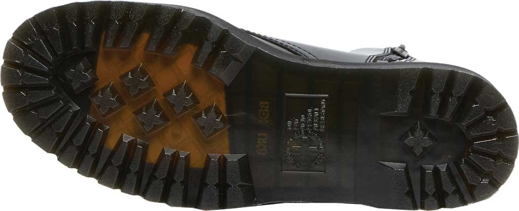 Dr. Martens Jadon 8-Eye Boot, Gunmetal Hologram Synthetic, large, image 5