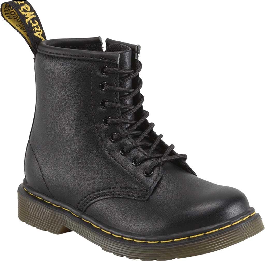 Infant Dr. Martens Brooklee Boot, Black Softy T, large, image 1
