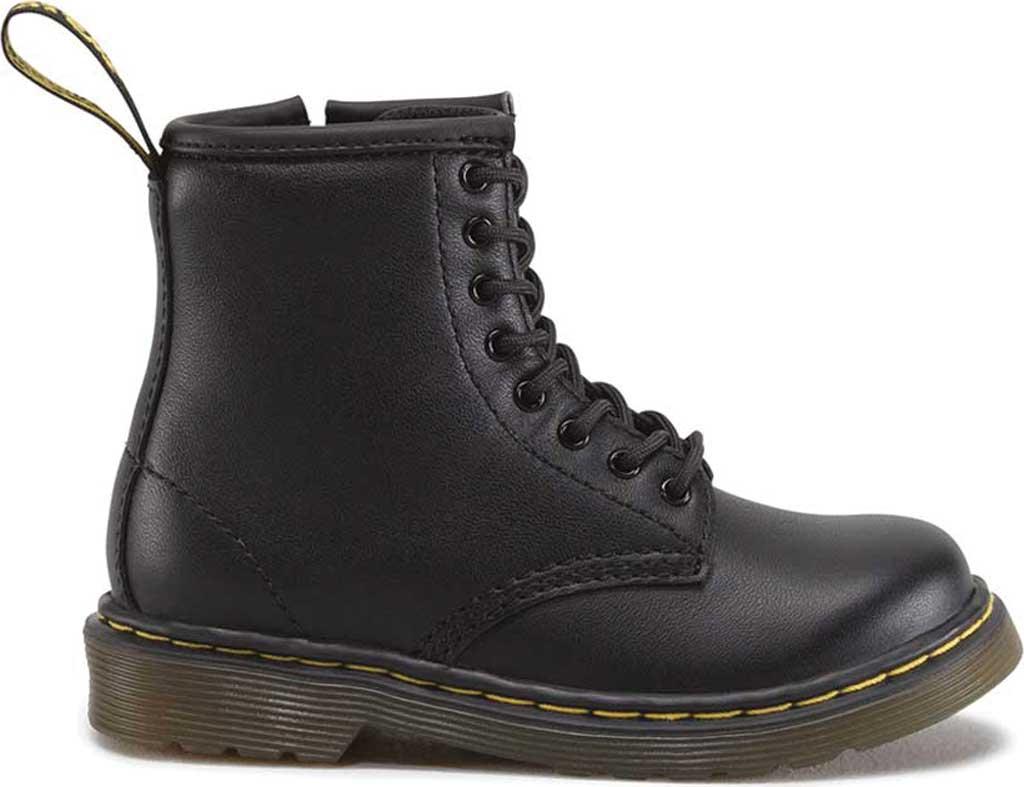Infant Dr. Martens Brooklee Boot, Black Softy T, large, image 2