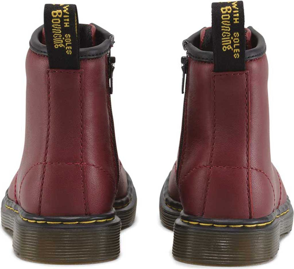 Infant Dr. Martens Brooklee Boot, Cherry Red Softy T, large, image 5