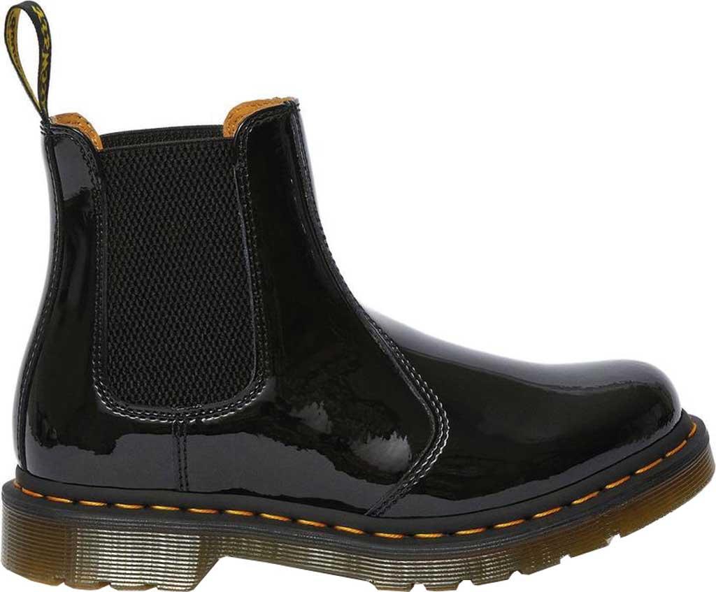 Dr. Martens 2976 Chelsea Boot, Black Patent Lamper Leather, large, image 2