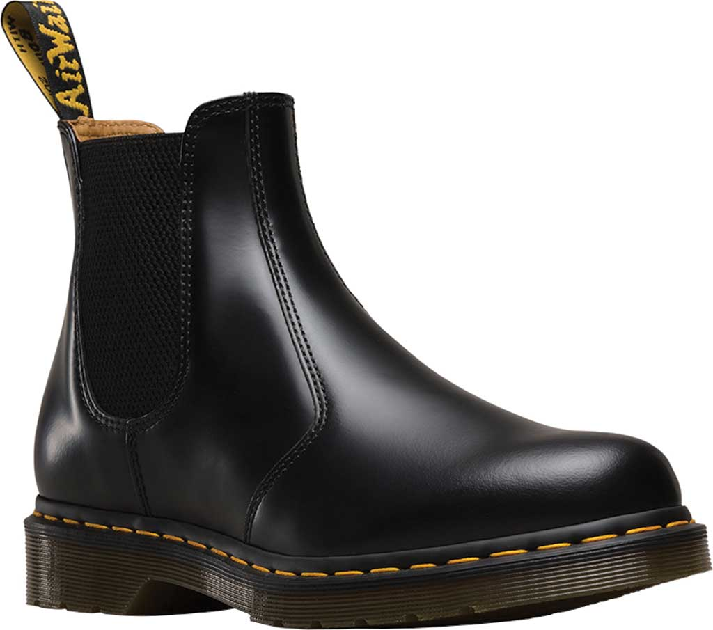 Dr. Martens 2976 Chelsea Boot, Black Smooth Leather, large, image 1