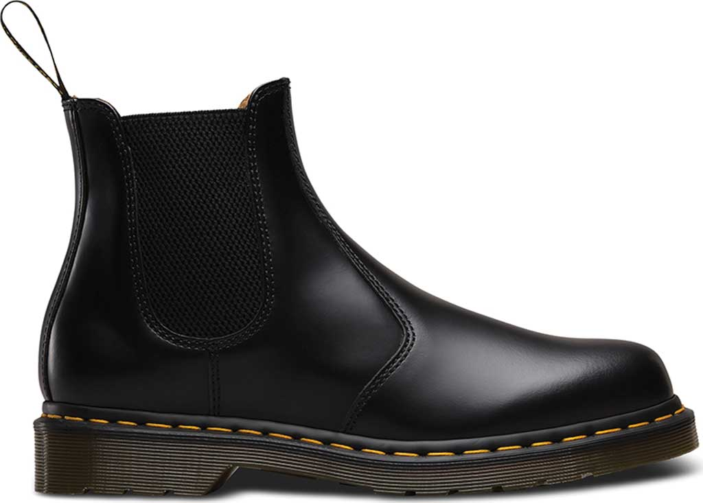 Dr. Martens 2976 Chelsea Boot, Black Smooth Leather, large, image 2