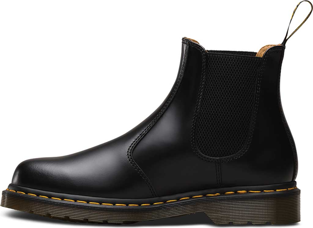 Dr. Martens 2976 Chelsea Boot, Black Smooth Leather, large, image 3