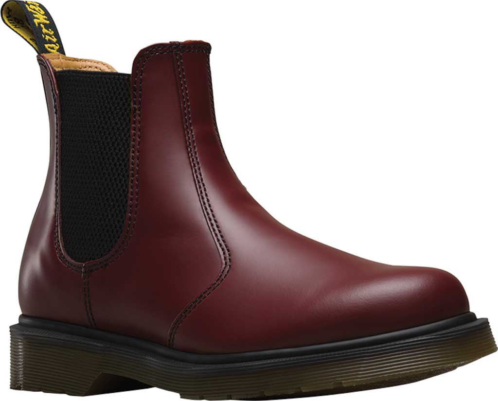 Dr. Martens 2976 Chelsea Boot, Cherry Red Smooth, large, image 1