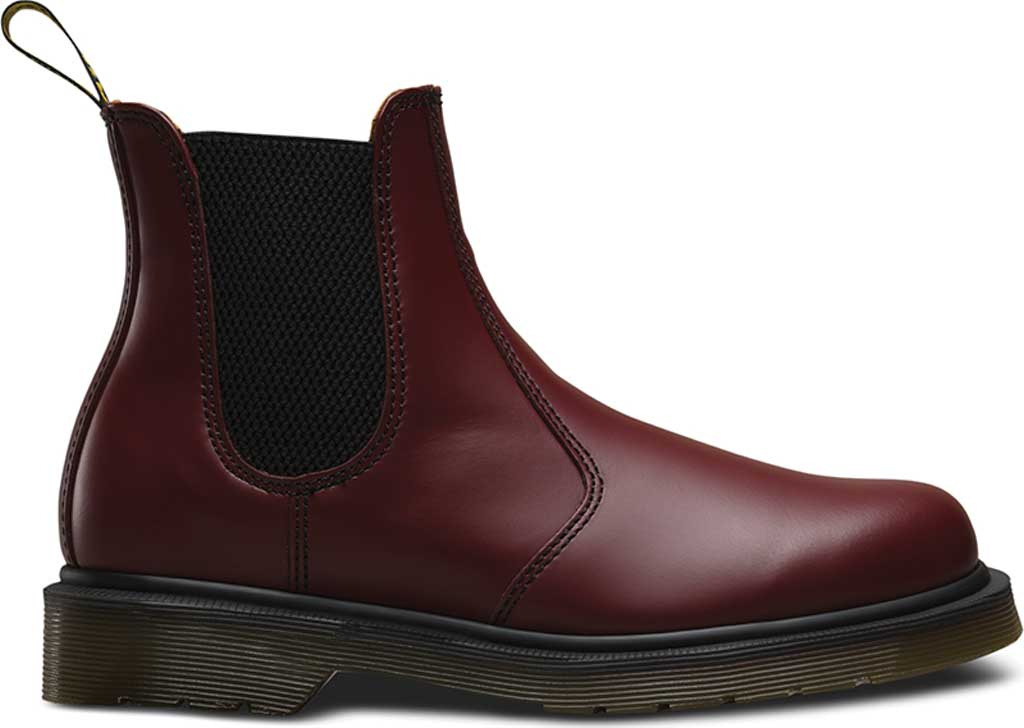 Dr. Martens 2976 Chelsea Boot, Cherry Red Smooth, large, image 2