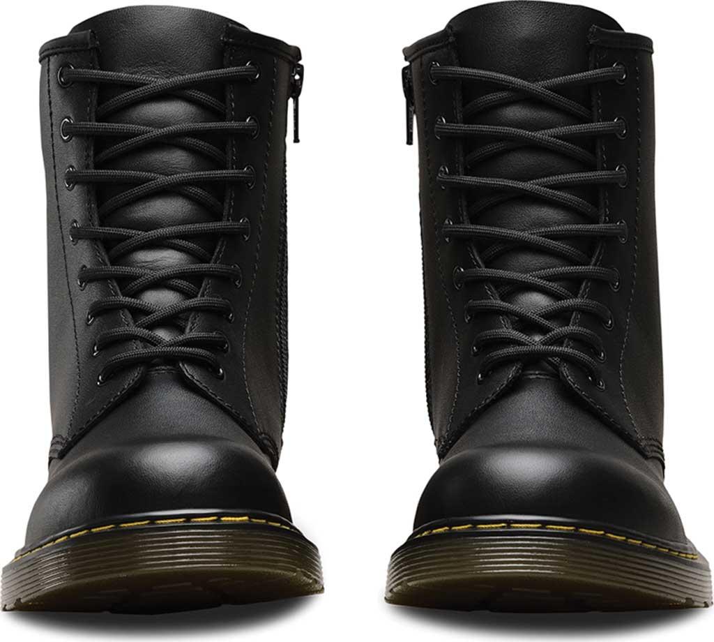 Children's Dr. Martens Delaney 8 Eye Side Zip Boot - Junior, Black Softy T, large, image 4
