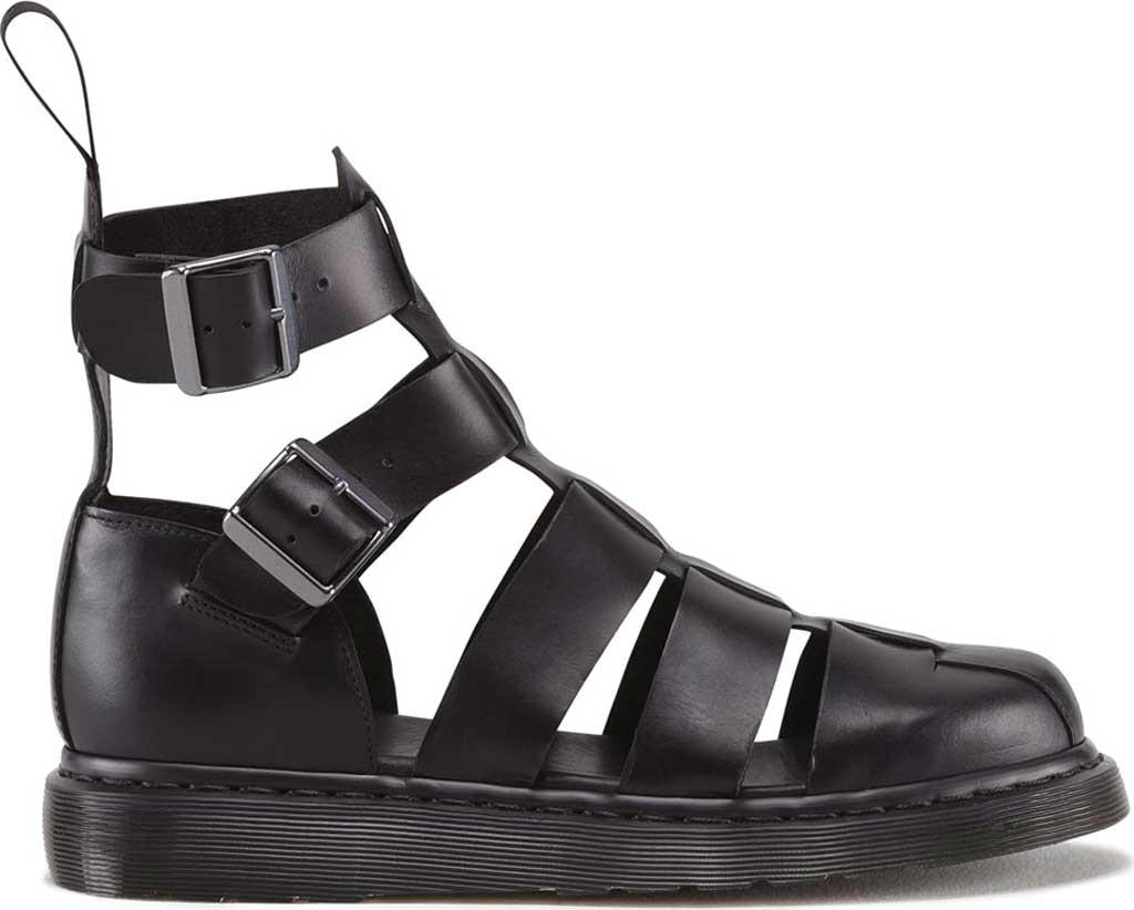 Dr. Martens Geraldo Ankle Strap Sandal, Black Brando, large, image 2
