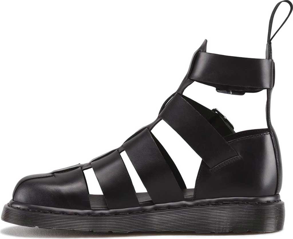 Dr. Martens Geraldo Ankle Strap Sandal, Black Brando, large, image 3