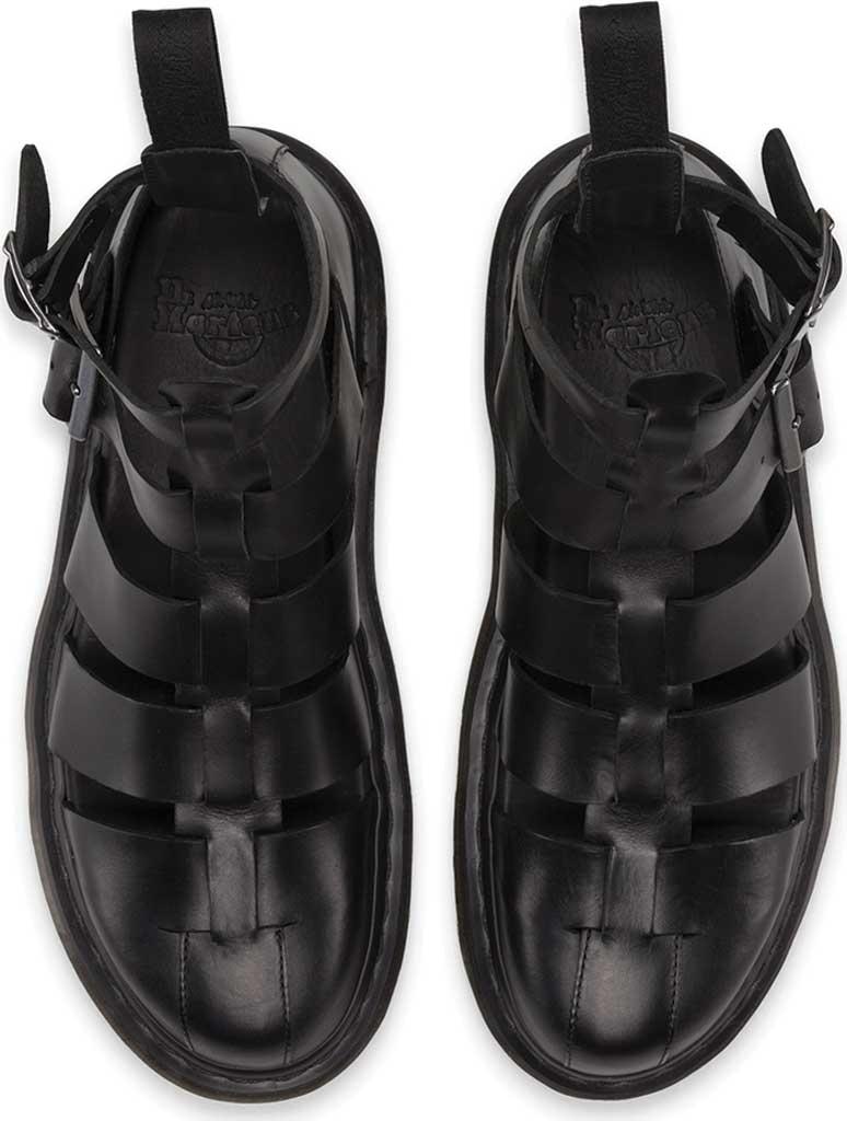 Dr. Martens Geraldo Ankle Strap Sandal, Black Brando, large, image 6