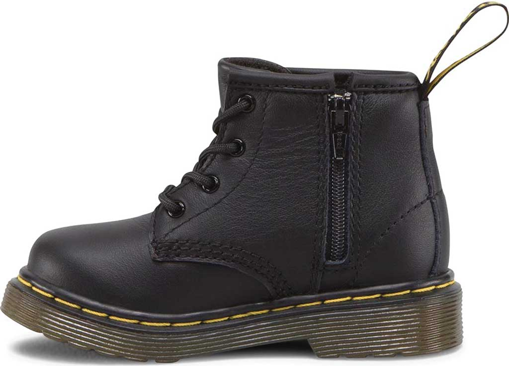 Infant Dr. Martens Brooklee B 4-Eye Lace Boot, Black Softy T, large, image 2