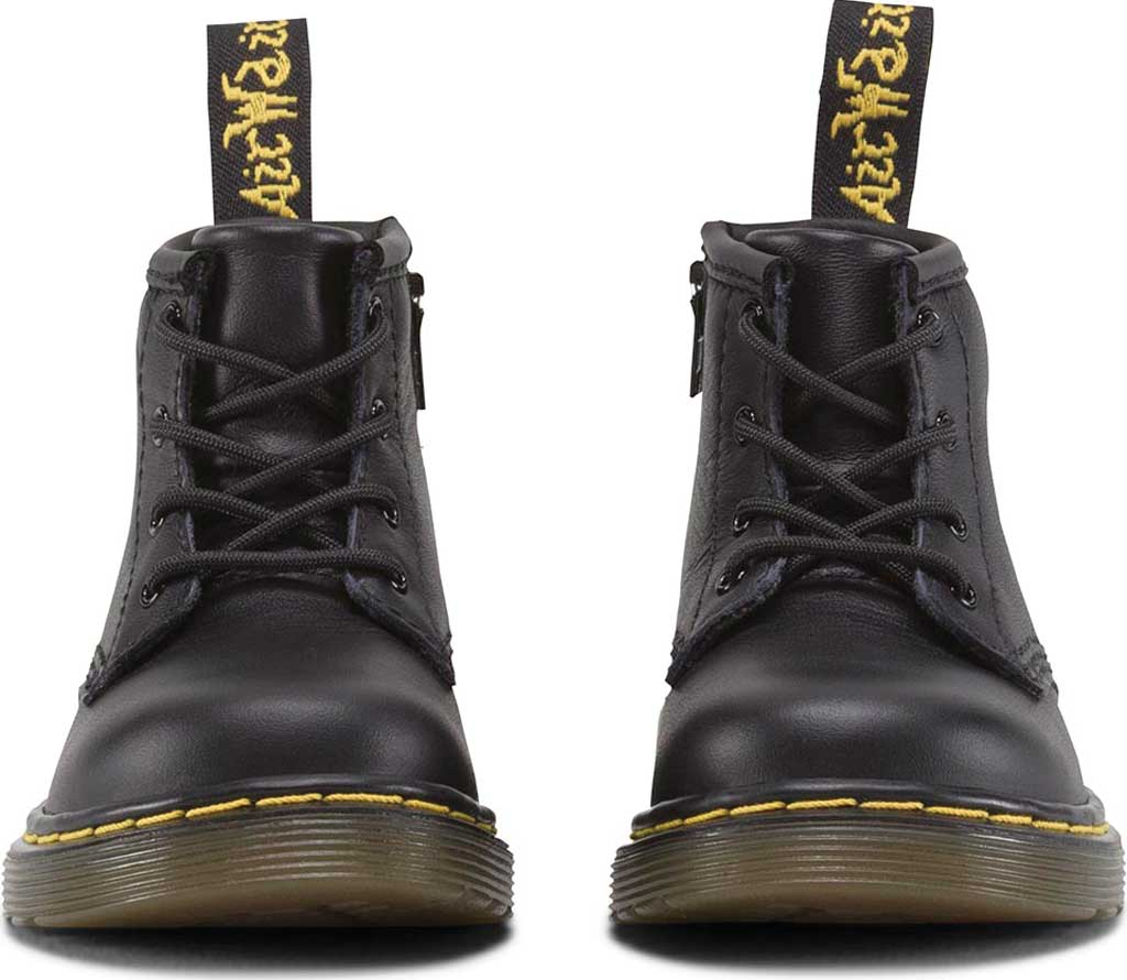 Infant Dr. Martens Brooklee B 4-Eye Lace Boot, Black Softy T, large, image 3