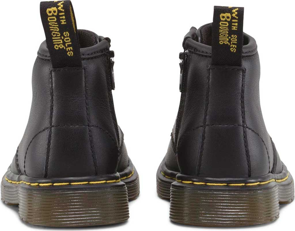 Infant Dr. Martens Brooklee B 4-Eye Lace Boot, Black Softy T, large, image 4