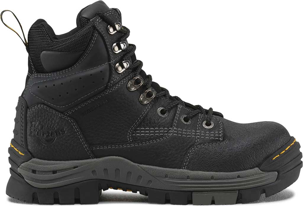Men's Dr. Martens Work Isambard Safety Toe Waterproof, Black Industrial Grizzly, large, image 2