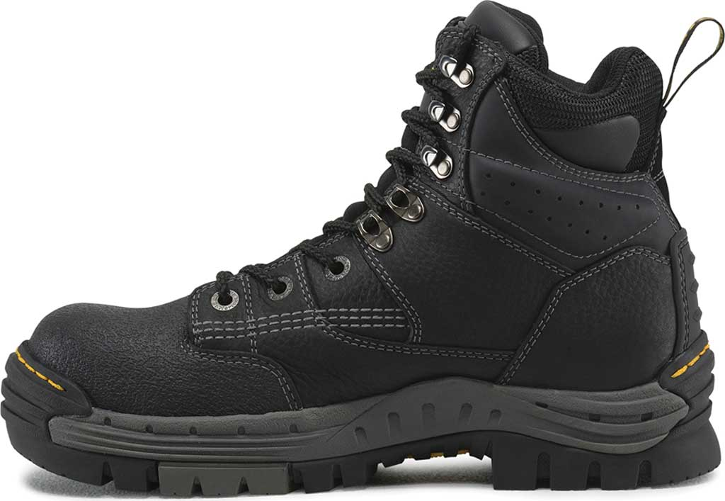 Men's Dr. Martens Work Isambard Safety Toe Waterproof, Black Industrial Grizzly, large, image 3