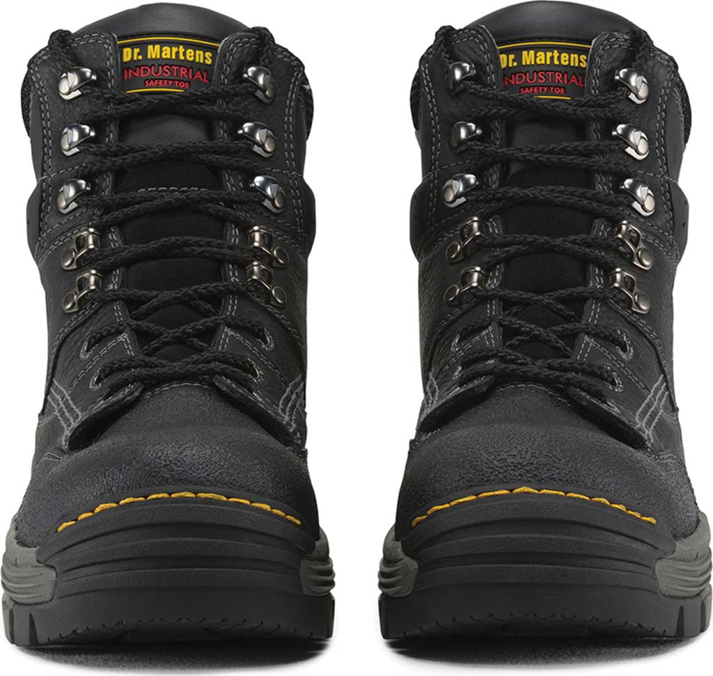 Men's Dr. Martens Work Isambard Safety Toe Waterproof, Black Industrial Grizzly, large, image 4