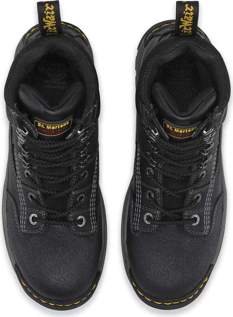 Men's Dr. Martens Work Isambard Safety Toe Waterproof, Black Industrial Grizzly, large, image 6