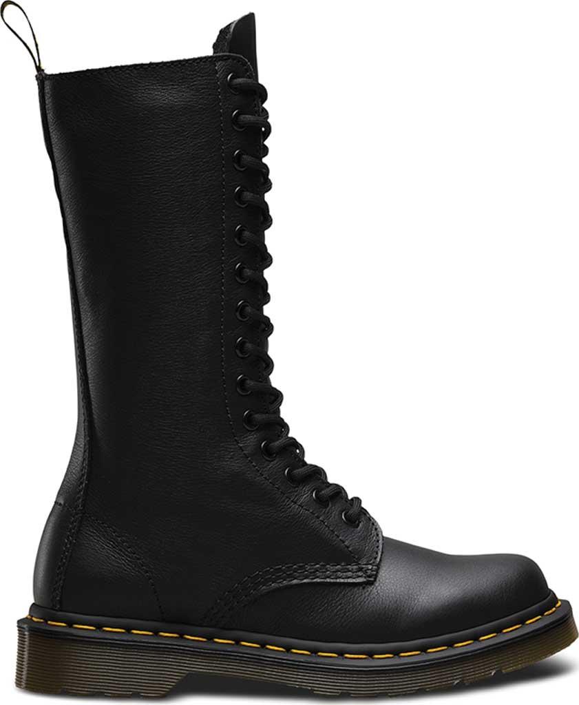 Dr. Martens 1B99 14-Eye Zip Boot, Black Virginia, large, image 2