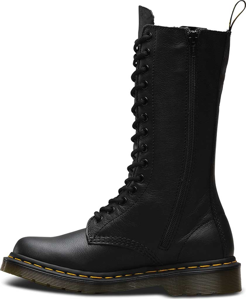 Dr. Martens 1B99 14-Eye Zip Boot, Black Virginia, large, image 3