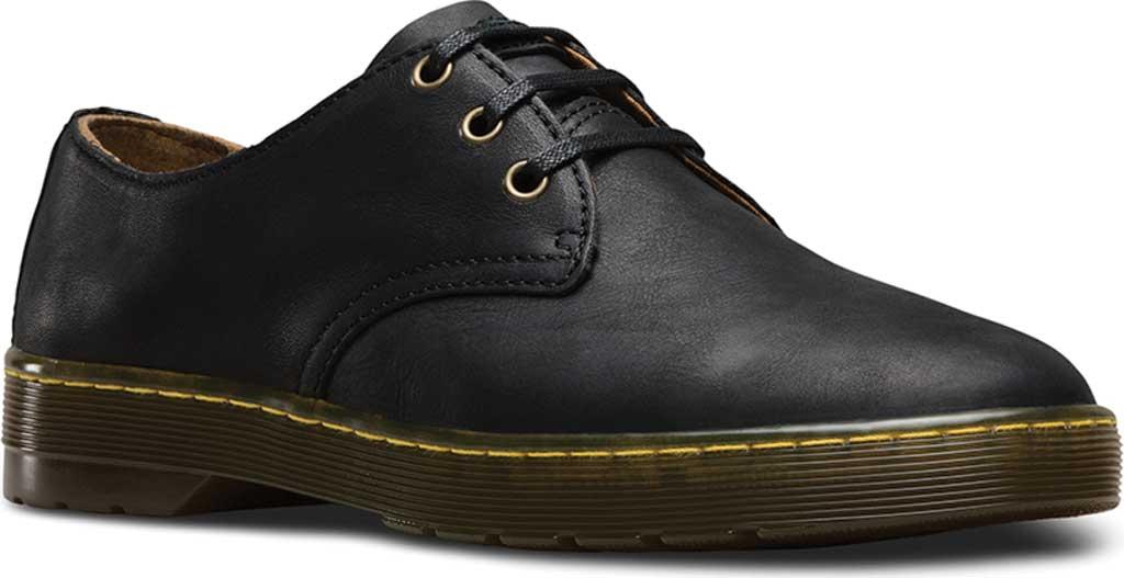 Men's Dr. Martens Coronado 3-Eye Shoe, Black Wyoming, large, image 1